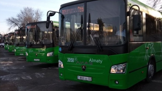 В Алматы запустили новый автобусный маршрут №98