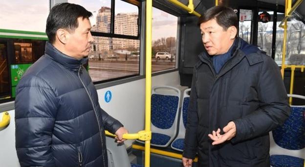 Новые автобусы запустили на маршруте № 137 в Алматы