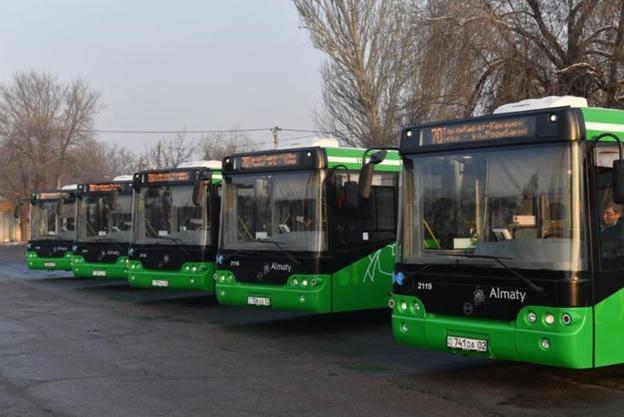 В Алматы на маршрут №70 выехали новые автобусы