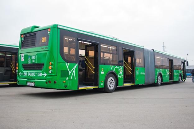 Автобусы-гармошки вернулись в Алматы