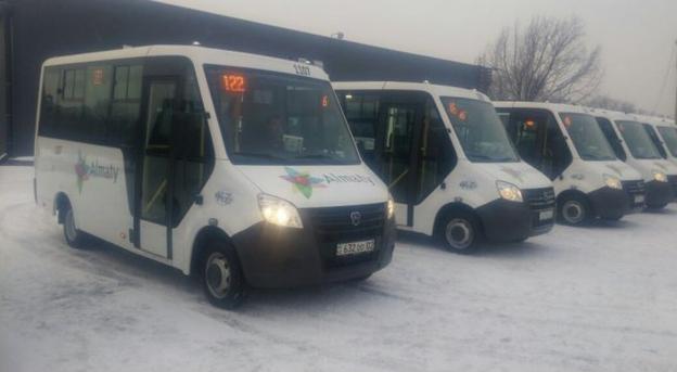 Новые маршрутки запустили в Алматы